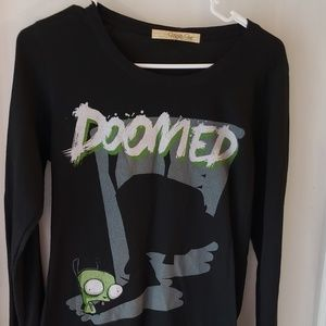 Mighty Fine Invader Zim NWT long sleeve shirt